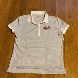 Nike Golf polo shirt w stl cardinals logo